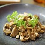 オステリア イタリアーナ コバ - パスタ やまゆりポーク イタリア産栗
