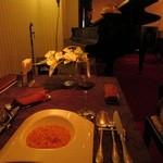 ピアノダイニング ガーデニア - トマトとモッツァレラのリゾット