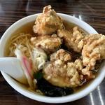 足利麺 - 料理写真:やんちゃなから揚げラーメン 850円(汗)