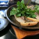 也万波 - No.16『猪肉オリーブオイル焼』3,000亦