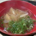 也万波 - No.21 サッパリとしたミョウガの味噌汁