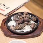 こんぴら丸 - 宮崎地鶏炭火焼き630円 味は良かったがちょっと冷めてた