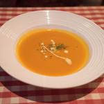 アリスカフェ - ハンバーグセットのスープ