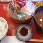 11608787 - 選べる刺身三種盛り定食
