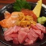 海鮮丼 大江戸 - 函館丼アップで・・・