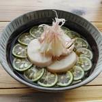 蕎麦カフェ マルタ屋 - 料理写真:「すだちそば」