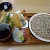 Teuchisobadokorohanda - 料理写真:十割・天せいろ