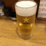 山忠 - 生ビール