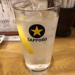 山忠 - レモンサワー