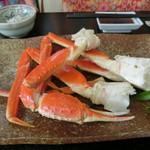 の一食堂 - 『ズワイガニ定食』1,700円