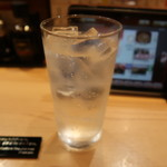 金沢まいもん寿司 - レモンサワー:390円