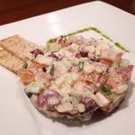116092581 - 鮮魚と野菜のタルターラ