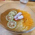 福島壱麺 - 河豚とカラスミの冷やし