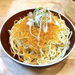 福島壱麺 - カラスミ和え玉
