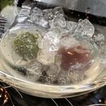 Kinchouensouhonke - 抹茶付き水まんじゅう