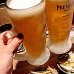Aburishimizu - 【おつかれの一杯(生ビール) ¥280】