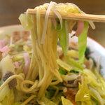みよし食堂 - みよしちゃんぽん(650円)