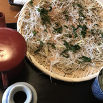 桜庵 - 料理写真:すずしろ蕎麦
