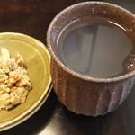 野麦 - 麦焼酎のそば湯割&おつまみ