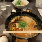 赤麺 梵天丸 - 料理写真: