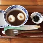 お茶の洞之園 - 料理写真:冷しぜんざい