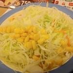 松屋 - 定食のサラダ