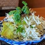 バンコク カフェ - サラダ(グリーンカレー)