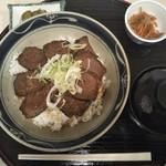 湯の沢温泉 - エゾ鹿丼。