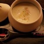 HAJIME - 蒸し物(フォアグラ茶碗)