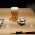 Nanaya - 生ビールとおとおし