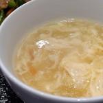 中華料理 萬珍館 - スープ(選べるランチ)
