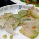 中華料理 萬珍館 - 漬物(選べるランチ)