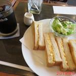 壱番館 - モーニングCセット 660円(税別)