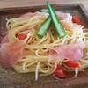 山籟 - 料理写真:生ハムとオクラの冷製