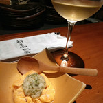 sousakuteppankonamonotoukyou - 粉物白ワイン