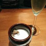 sousakuteppankonamonotoukyou - 突き出し 肉じゃがスープ