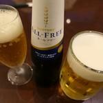 同心居 - (2019/7月)生ビールとノンアルコールビール