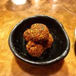 ひのめ - ひよこ豆のコロッケ