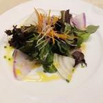 セントベーネ - 真鯛のカルパッチョ