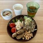 農福レンケイレストラン すずかれん - 料理写真:サラダバー 150円