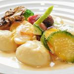 oldway stew restaurant - 鮮魚のウニソース