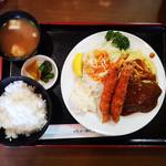 洋食 キャベツ - Cセット 940円