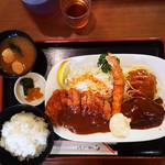 洋食 キャベツ - Bセット 1050円