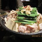 中洲屋台横丁 - 和牛モツ鍋