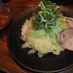 11615278 - つけ麺(並)キャベツ大盛り