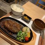 029吉祥寺食堂 - 和風ハンバーグ定食1260円