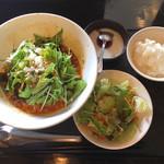 116152908 - 汁なし担々麺(850円)