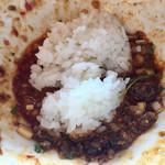 116152915 - 汁なし担々麺(850円)