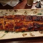 籠ノ島 - 料理写真:鰻のかば焼(竹)  2500円