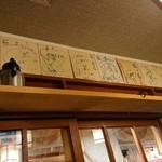 籠ノ島 - 芸能関係の人たちでしょうか。有名なお店なんですね~